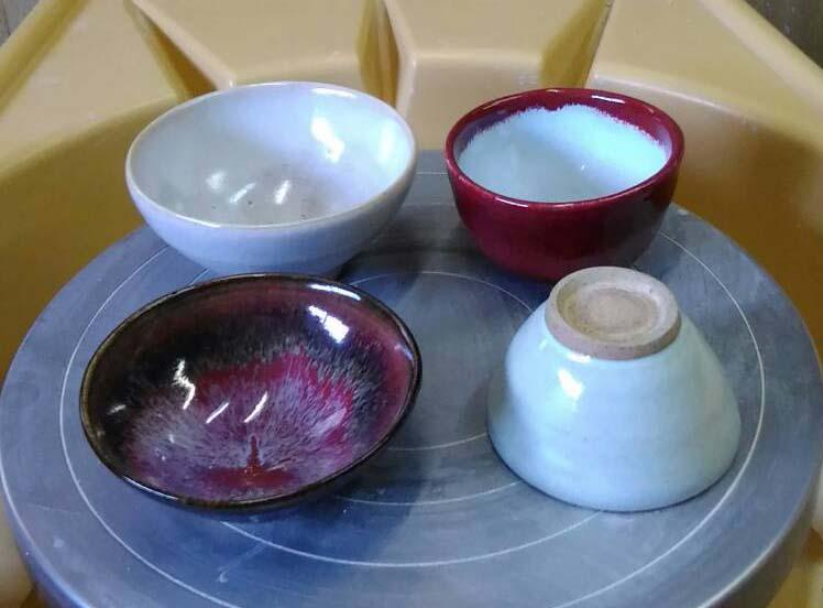 陶芸体験ロクロコースの作品