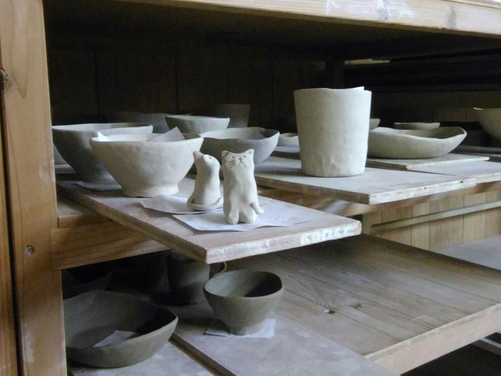 陶芸体験の作品です。