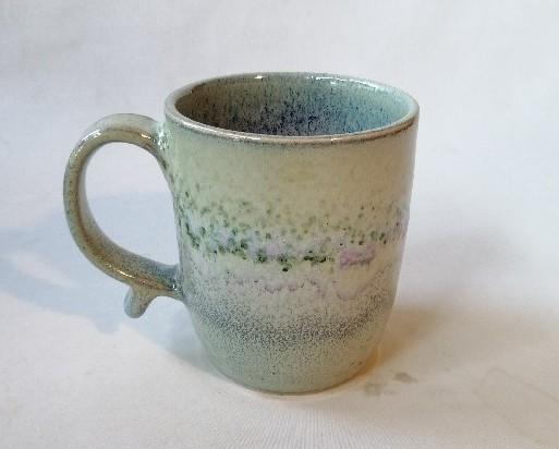 銅緑釉マグカップです。