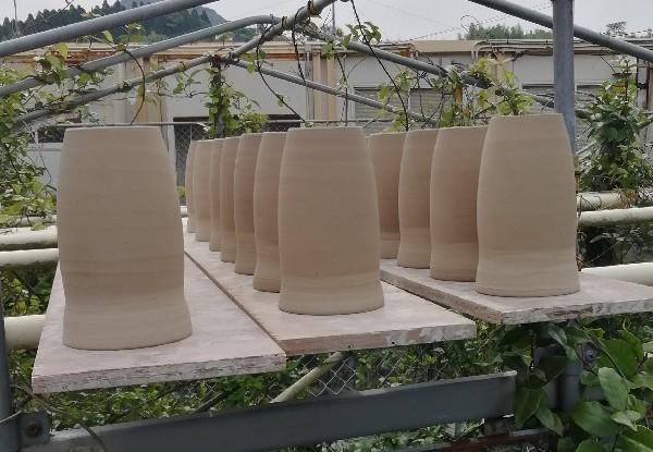 ビールカップ乾燥中です。