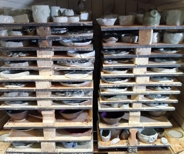 幼稚園の陶芸教室作品です。