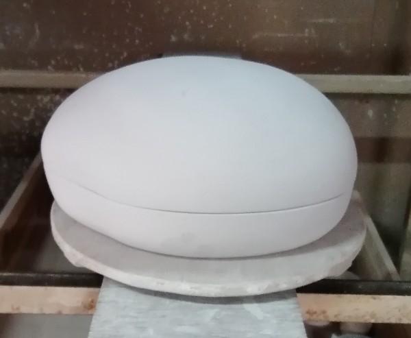 陶筥成形完成です。
