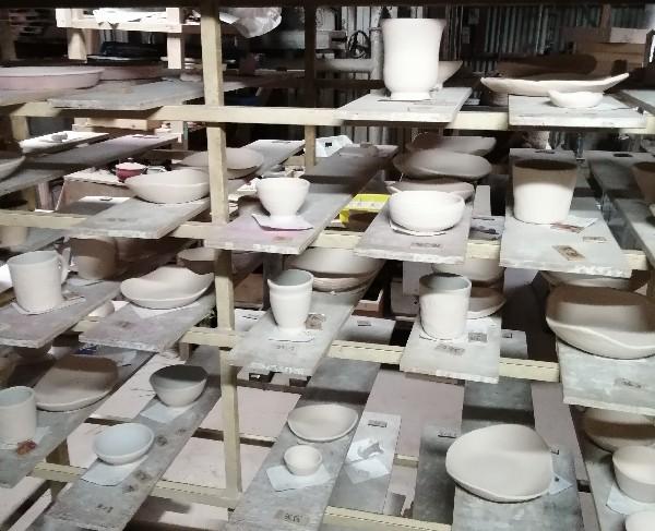 陶芸体験作品です。