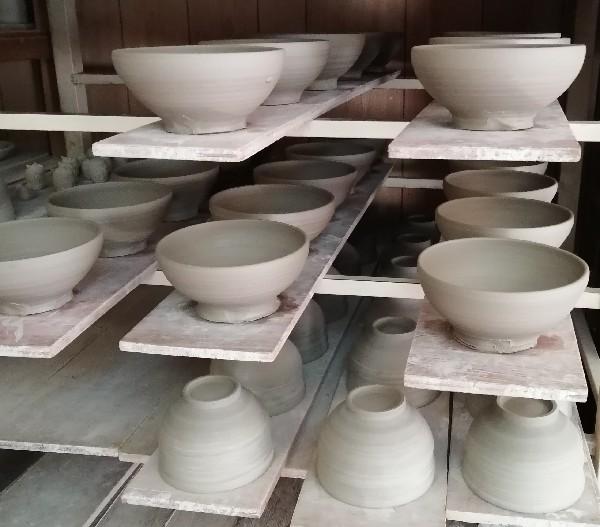 鉢と汁碗です