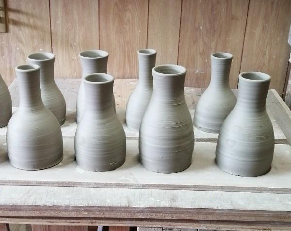 花器水挽き