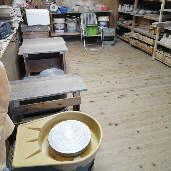陶芸教室です