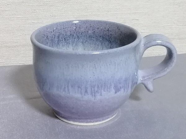 均窯釉丸形マグカップ