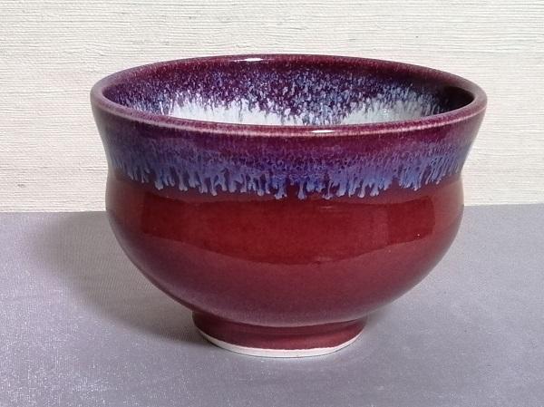 辰砂釉汁碗