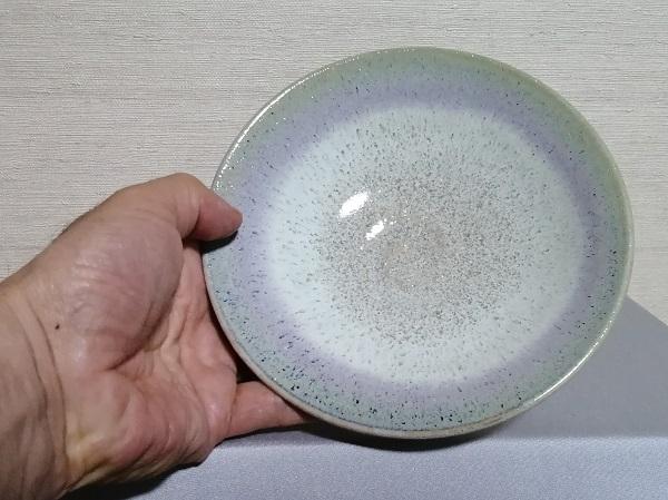 銅緑釉平鉢