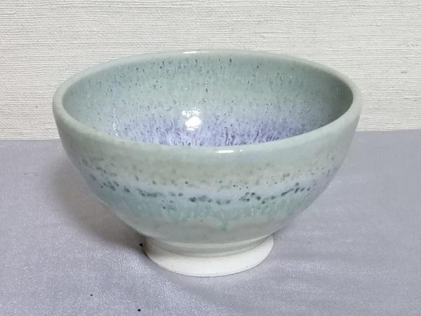 銅緑釉飯碗です