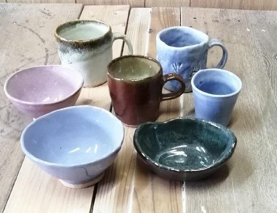 陶芸体験再開します。