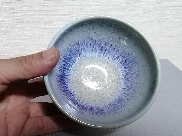 銅緑釉飯碗です。