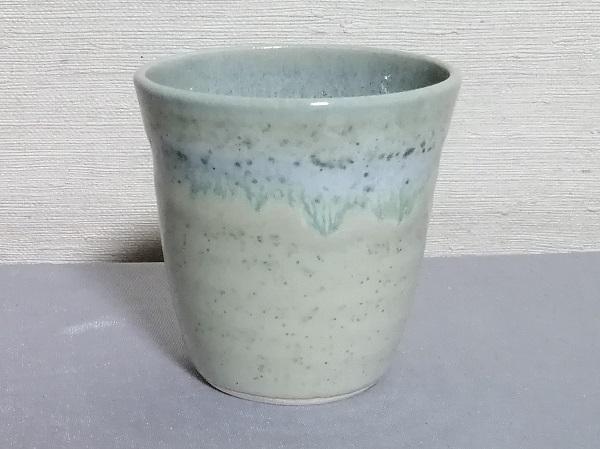 緑の焼酎カップ