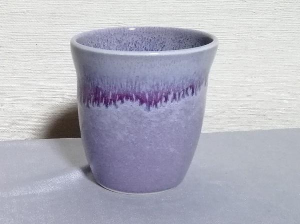 均窯釉焼酎カップです。