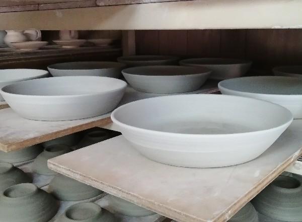 パスタ、カレー皿