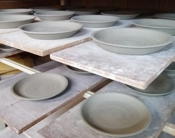 平皿乾燥中
