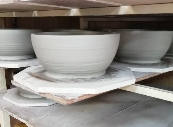 鉢の水挽き