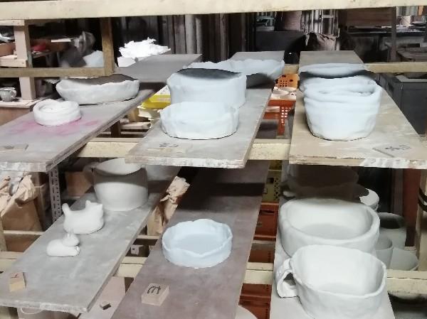 子供会陶芸教室作品