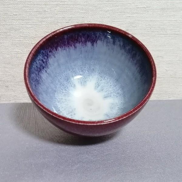 辰砂釉飯碗