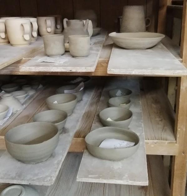 陶芸サークル作品